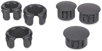 Cable Cubby Hole Plug and Grommet Kit