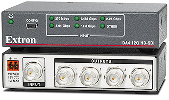 SDI & HD-SDI Distribution Amplifiers