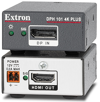The Extron DPH 101 4K PLUS