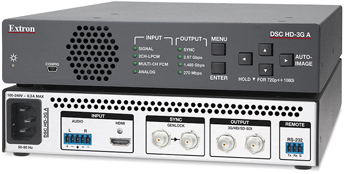The Extron DSC HD-3G A