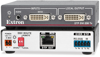 The Extron DTP DVI 4K 230 Tx