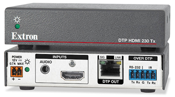 The Extron DTP HDMI 4K 230 Tx