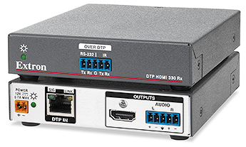 The Extron DTP HDMI 4K 330 Rx
