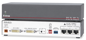 The Extron DVI DL 201