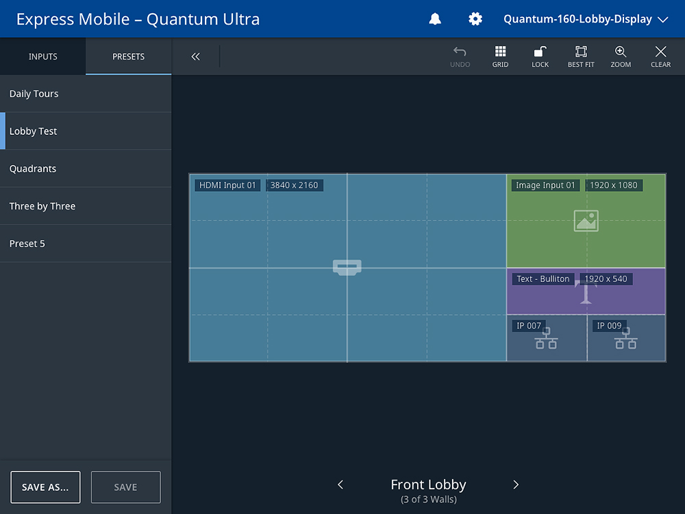 EMS Express Mobile Software - Quantum Ultra