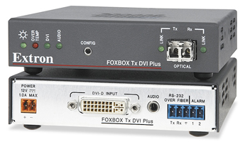 The Extron FOXBOX Tx DVI Plus