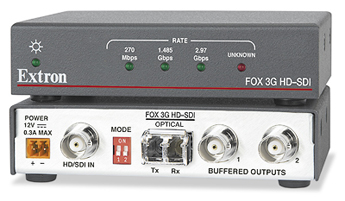 The Extron FOX 3G HD-SDI
