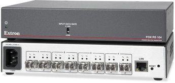 The Extron FOX RS 104