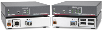 The Extron FOX USB Extender Plus