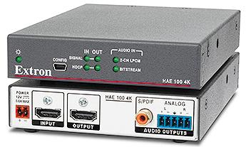 hae 100 4k audio products extron rh extron com
