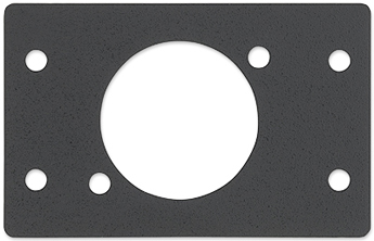 The Extron Blank Plate with One Neutrik Opening