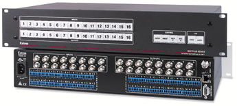The Extron MAV Plus 1616 AV
