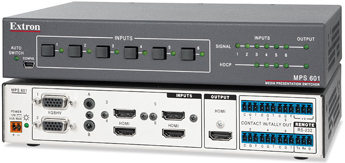 The Extron MPS 601
