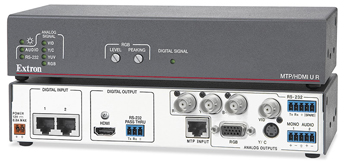 The Extron MTP/HDMI U R