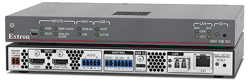 The Extron NAV 10E 501