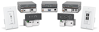 The Extron USB Extender Plus Series