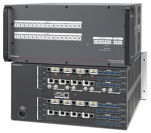 The Extron XTP II CrossPoint 1600