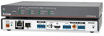 The Extron XTP R HD 4K