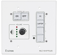 The Extron MLC 104 IP Plus