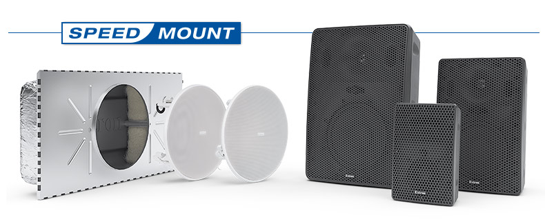 SpeedMount Speakers