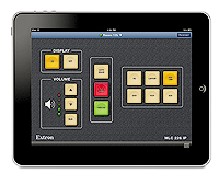 The Extron MediaLink for iPad