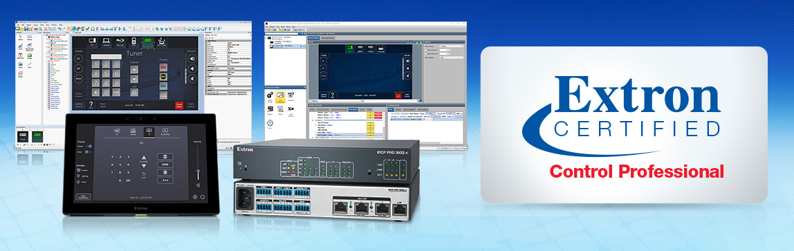 Extron Control Systems Certification Programs