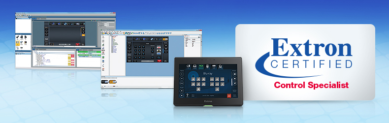 Extron Control Specialist Certification Program