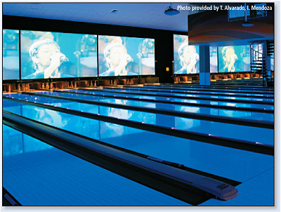 Galaxy Lanes: New Puerto Rico Entertainment Center Goes the Distance with Extron Twisted Pair AV Technology