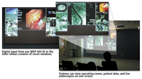 University College London Hospital Extron S Mgp 464