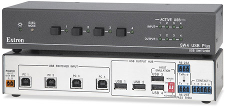 EXTRON SW4 PLUS USB SWITCHER DRIVER FOR WINDOWS DOWNLOAD