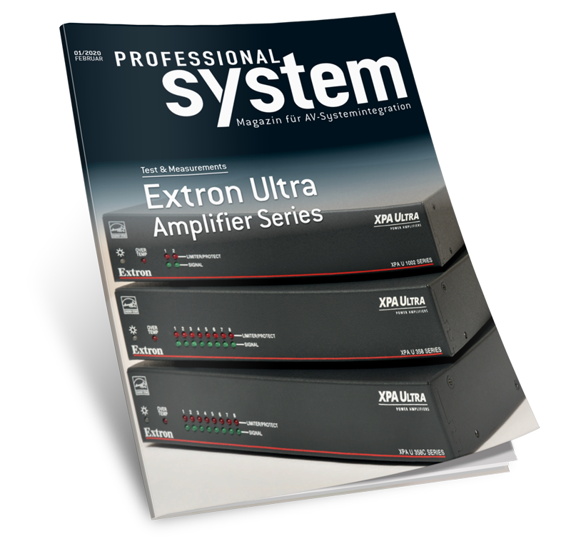 Professional System Magazine cover.