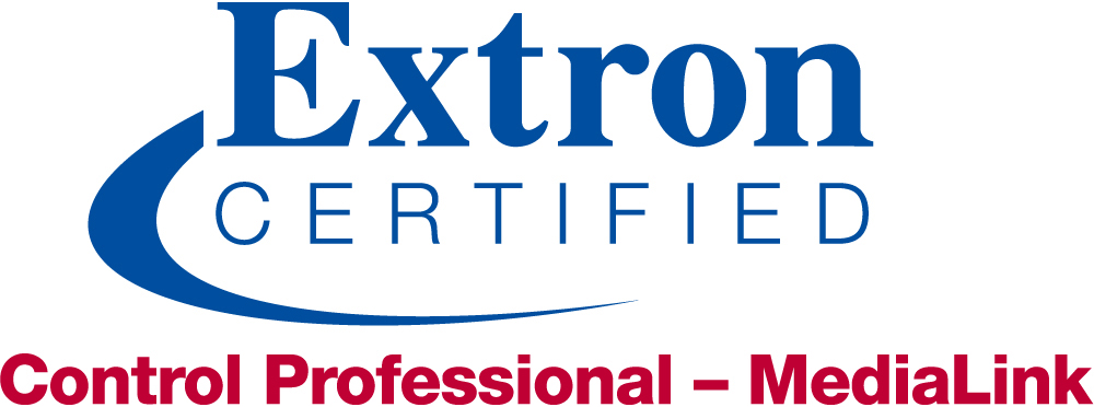 Extron Certified Control Professional - MediaLink Logo