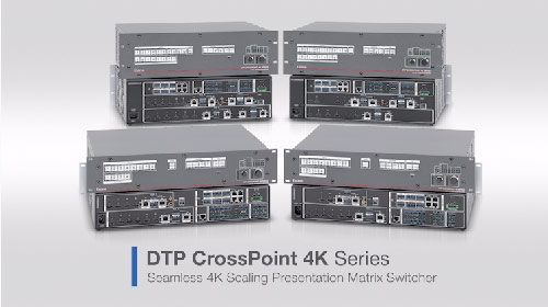 DTP CrossPoint 4K Series